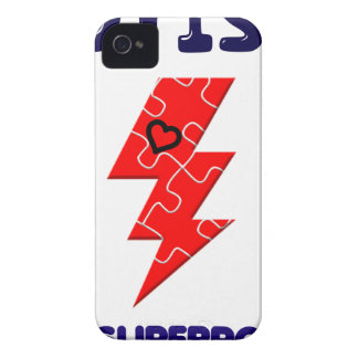 Autism is superpower, mental condition health mind iPhone 4 cover