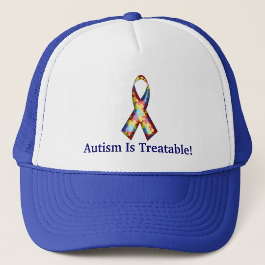 Autism Is Treatable! Trucker Hat