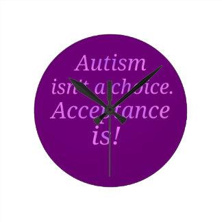 Autism isn't a choice... round clock