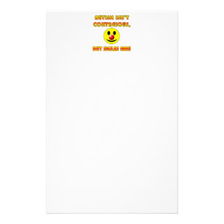 Autism Isn't Contagious But Smiles Are Customized Stationery