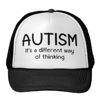 Autism It's A Different Way Of Thinking Trucker Hat