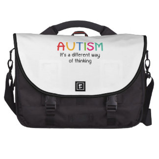 Autism It's A Different Way Of Thinking Laptop Computer Bag