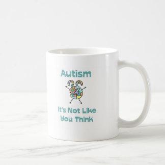 Autism: It's Not Like You Think Coffee Mug