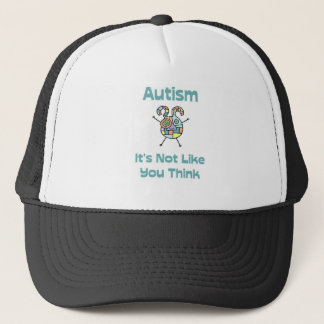Autism: It's Not Like You Think Trucker Hat