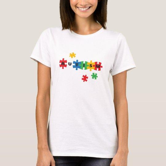 Autism jigsaw puzzle T-Shirt
