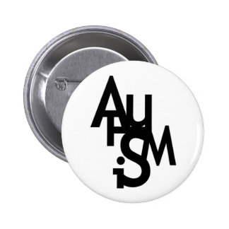 Autism (Jumbled Letters) Buttons