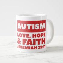 Autism Jumbo Mug