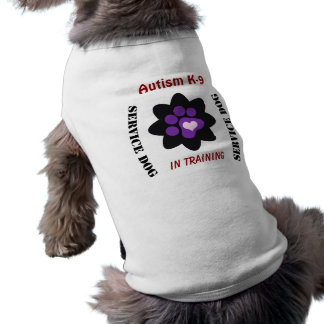 Autism K-9 Customizable Service Dog Tee