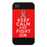 Autism Keep Calm and Fight On Case For iPhone 4