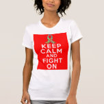 Autism  Keep Calm and Fight On T Shirt
