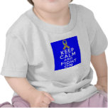 Autism  Keep Calm and Fight On T-shirt