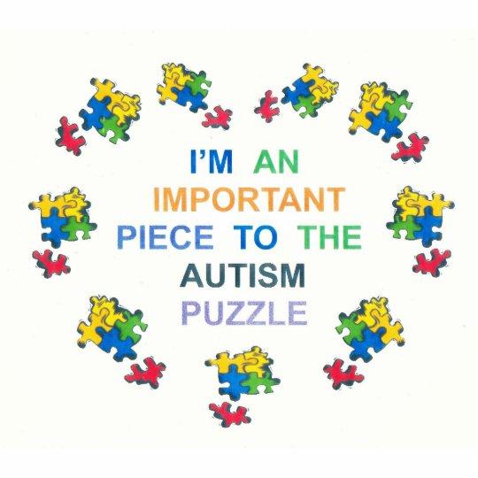 Autism Keepsake Cutout