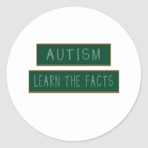 Autism: Learn The Facts Stickers