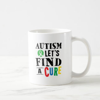 Autism Lets Find A Cure Awareness Mug