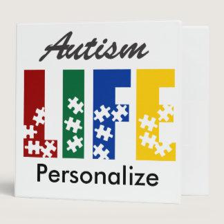Autism life binder