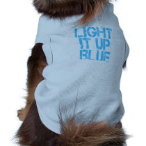 Autism Light It Up Blue Autism Awareness Shirt