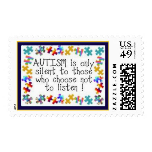 Autism - Listen Stamps