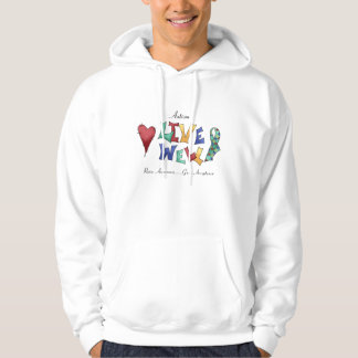 Autism- Live Well Hoodie