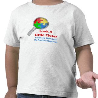 Autism Look Closer Tee Shirt