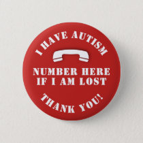 Autism & Lost Button