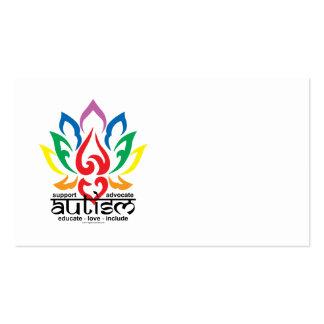 Autism Lotus Flower Business Cards