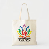 Autism Lotus Flower Tote Bag