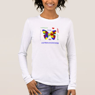Autism Love and Support 4 Awareness T Long Sleeve T-Shirt