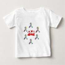 Autism Love Baby T-Shirt