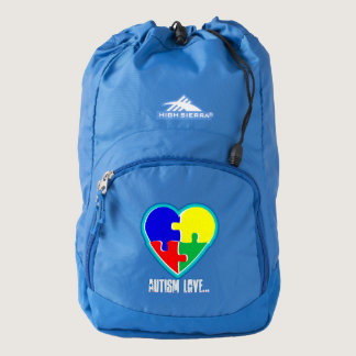 Autism Love BackPack