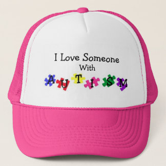 Autism Love Ball Cap
