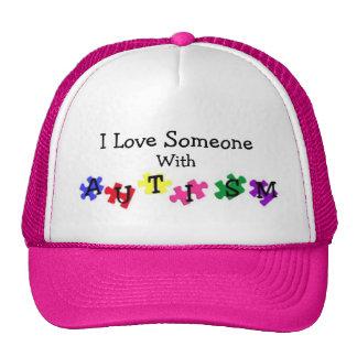 Autism Love Ball Cap Trucker Hat