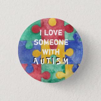 Autism love button