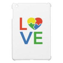 Autism Love iPad Mini Cover