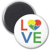 Autism Love Magnet