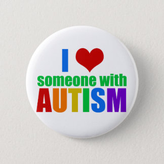 Autism Love Pinback Button
