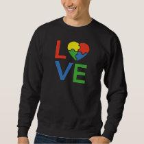 Autism Love Sweatshirt