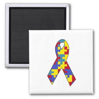 Autism 2 Inch Square Magnet