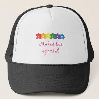 Autism Makes her special Trucker Hat