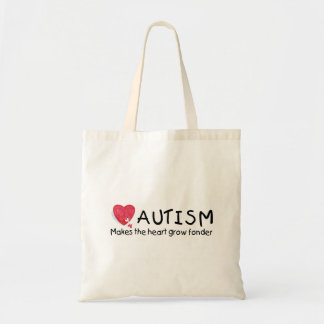 Autism Makes The Heart Grow Fonder (Hrt P 2) Tote Bag