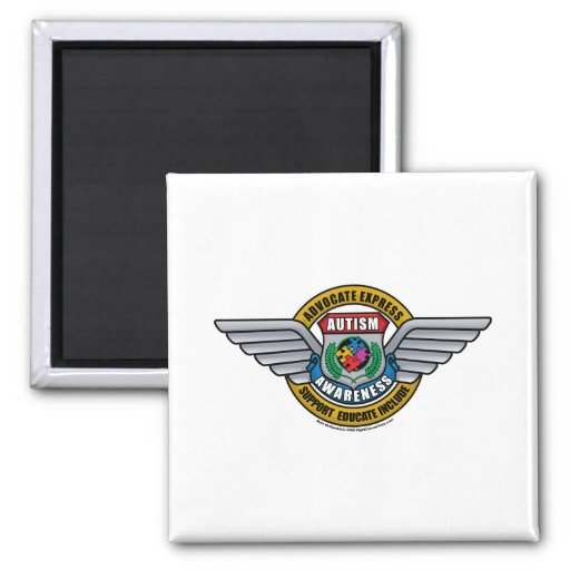 Autism Medal Magnets