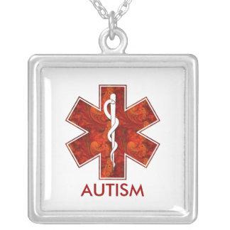 Autism Medical Necklace Customizable