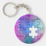 Autism Missing Piece - Key Chain
