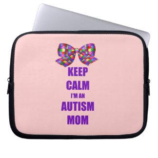 Autism Mom Computer Sleeve