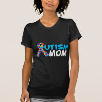 Autism Mom Dark T-Shirt