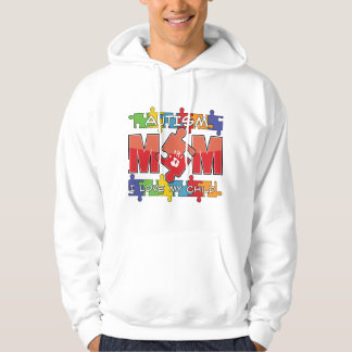 Autism Mom - I Love My Child Hoodie