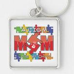 Autism Mom - I Love My Child Key Chain