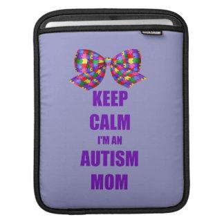 Autism Mom iPad Sleeve