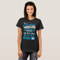 Autism Mom Is A Journey I Never Planned Gildan Lon T-Shirt