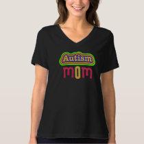 Autism Mom Jersey V-Neck T-Shirt