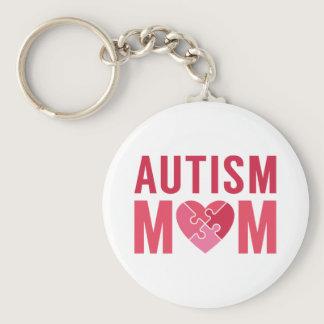 Autism Mom Keychain
